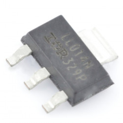 N-MOSFET IRLL014N - SMD