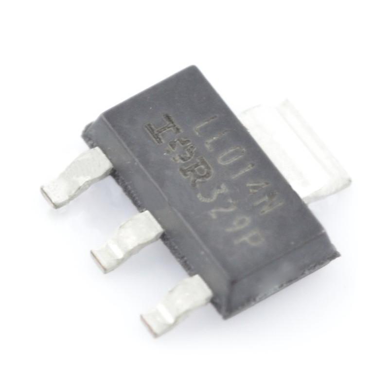Tranzystor N-MOSFET IRLL014N - SMD - 5szt.