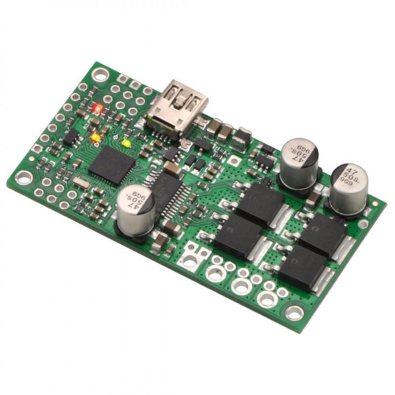 Simple High-Power 24v23 - jednokanałowy sterownik silnika USB 40V/23A - Pololu 1383