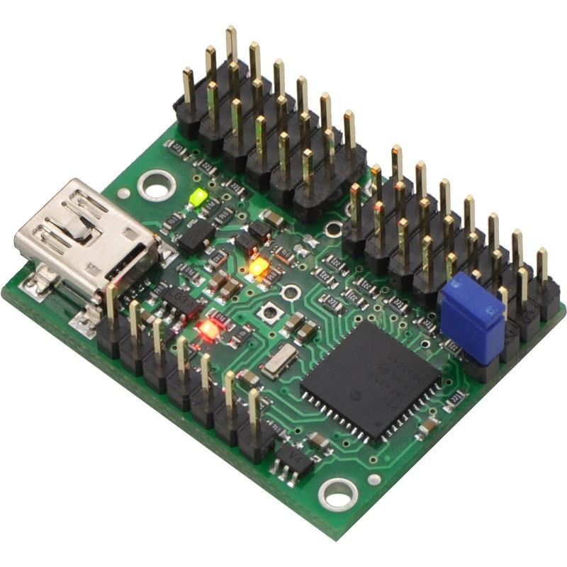 Mini Maestro USB 12-channel servo driver - Pololu 1352
