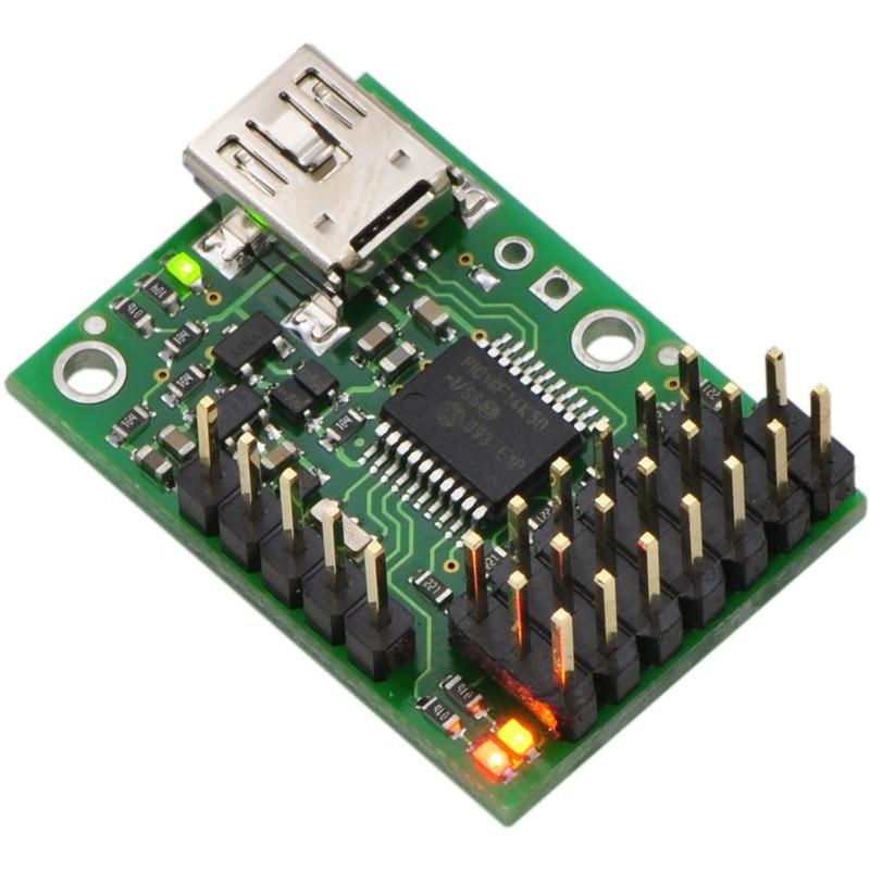 Micro Maestro USB 6-channel servo driver - Pololu 1350*