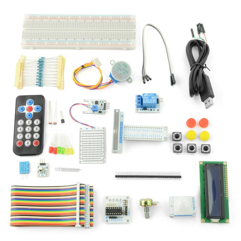Zestaw prototypowy Velleman VMP501 dla Raspberry Pi 3B+/3B/2B/Zero