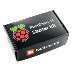 Zestaw Raspberry Pi 4B WiFi 1GB RAM - Official - z obudową grafitową