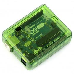 Obudowa przezroczysta zielona Arduino uno