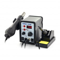 Soldering station 2in1 Yihua 878D - 700W
