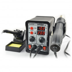 Soldering station Zhaoxin 898D with hot air