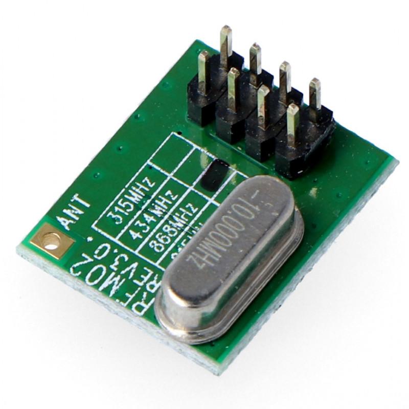 Radio module - RFM02 / 868D 868MHz - THT transmitter