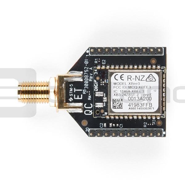 Moduł XBee Pro 802 15 4 + BLE Seria 3 - antena RP-SMA
