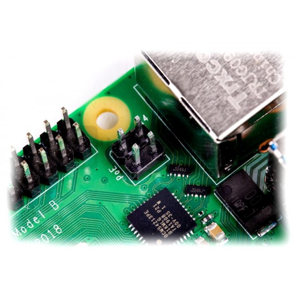 Raspberry Pi 4 model B WiFi DualBand Bluetooth 4GB RAM 1,5GHz