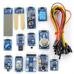 Zestaw 14 modułów z przewodami Waveshare do Arduino