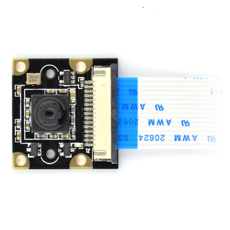 Waveshare Camera HD Night Vision E OV5647 5Mpx - for Raspberry Pi + IR modules_