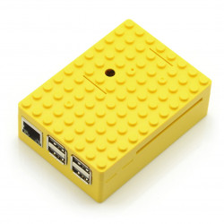 Pi-Blox case for Raspberry - yellow