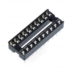 Podstawka do układów DIP 20 pin zwykła - 5szt.