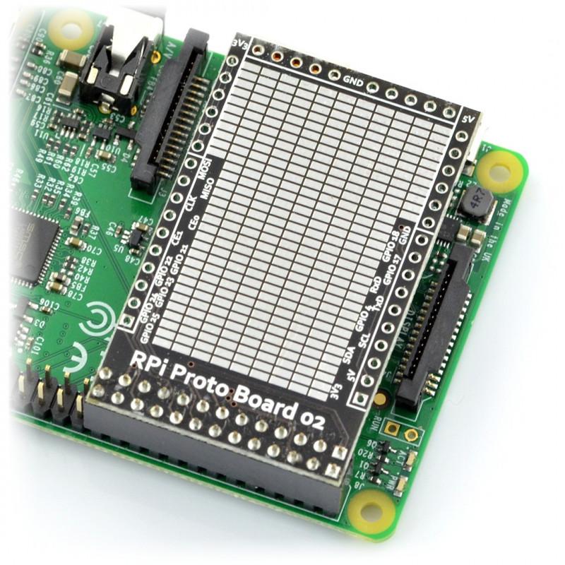 SMD - Raspberry Pi prototype board_