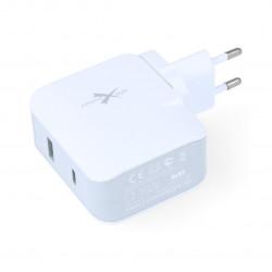 zasilacz eXtreme 3.1A PD+USB