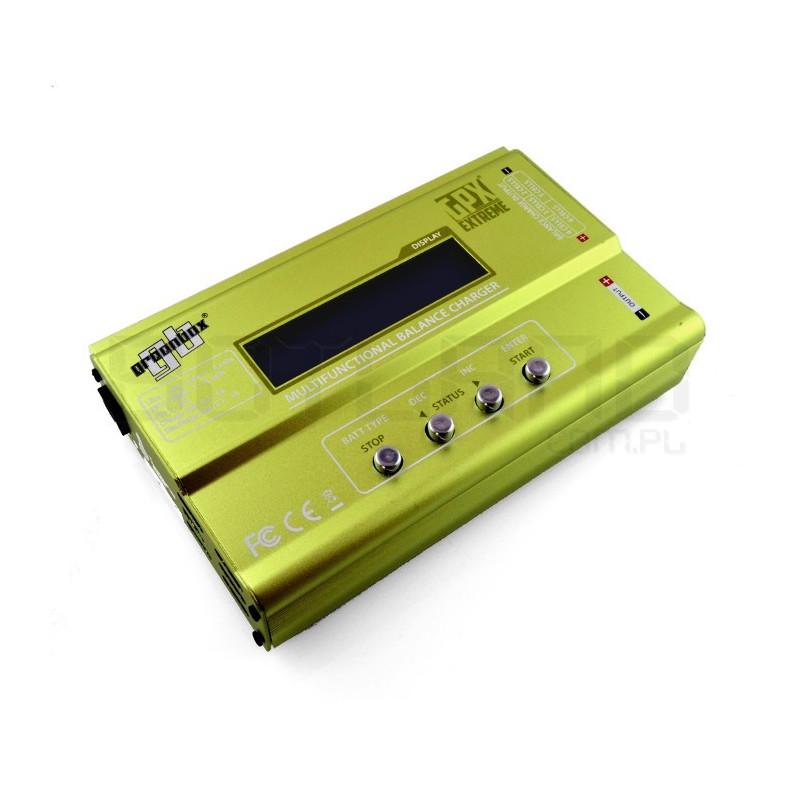 LiPo / LiFe / LiIon / NiMH / NiCD charger GPX Greenbox with balancer