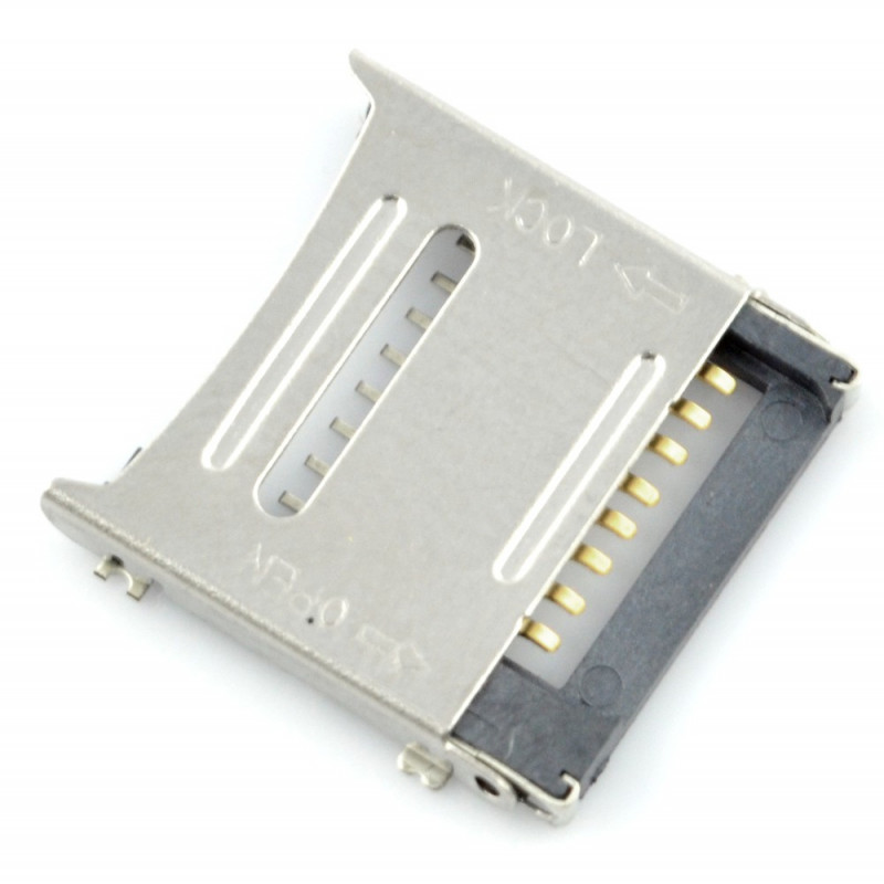Slot for micro SD memory card uSD589*