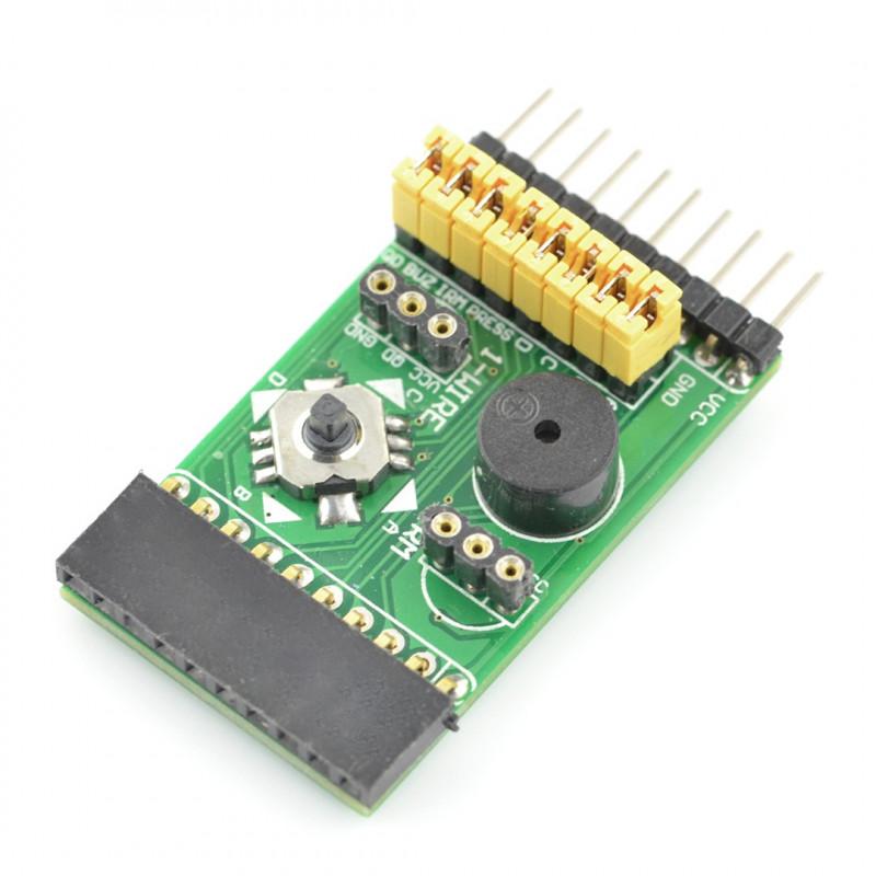 Mix Board 4in1 - extension module - IR, joystick, buzzer, temperature sensor - Waveshare 9203*