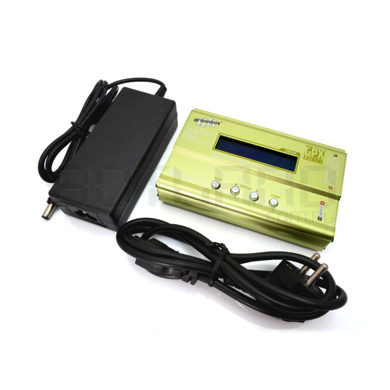 Ładowarka LiPo / LiFe / LiIon / NiMH / NiCD z balanserem GPX Greenbox z zasilaczem