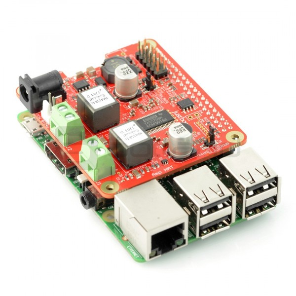 JustBoom Amp Hat - Class D amplifier 2x55W for Raspberry Pi 3/2/B+*