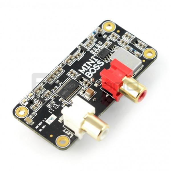 Allo Mini Boss DAC - karta dźwiękowa dla Raspberry Pi Zero