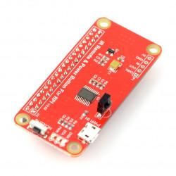 IR Hat + pilot - nakładka Raspberry Pi v2