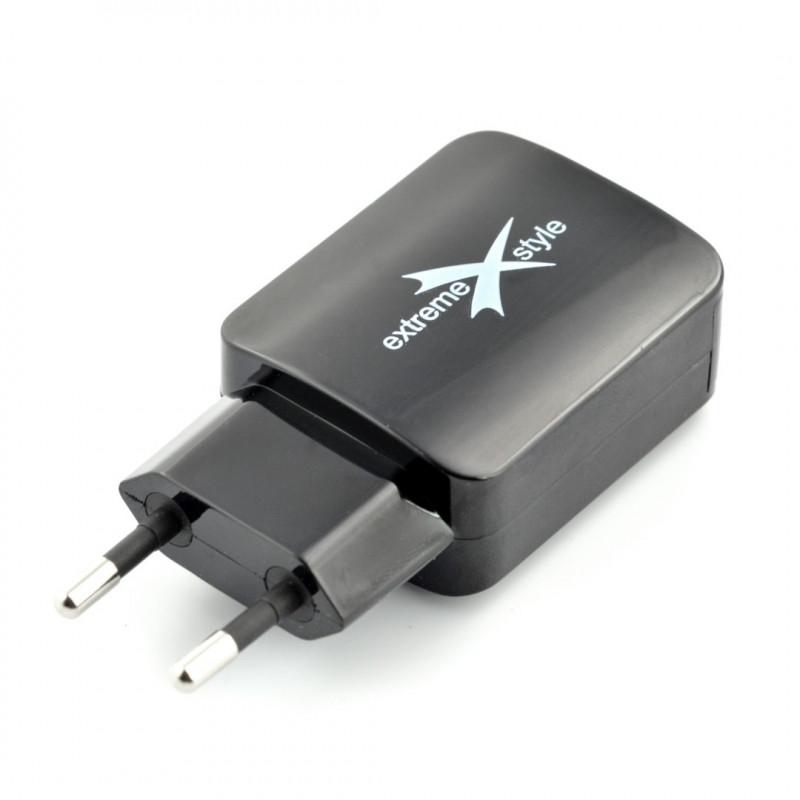 Zasilacz Extreme 2x USB 5V / 2,1A