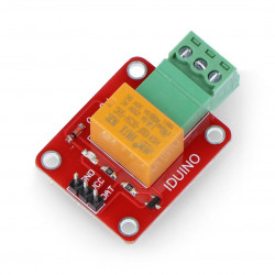Relay module 1 channel - 3A/250VAC contacts - 5V coil