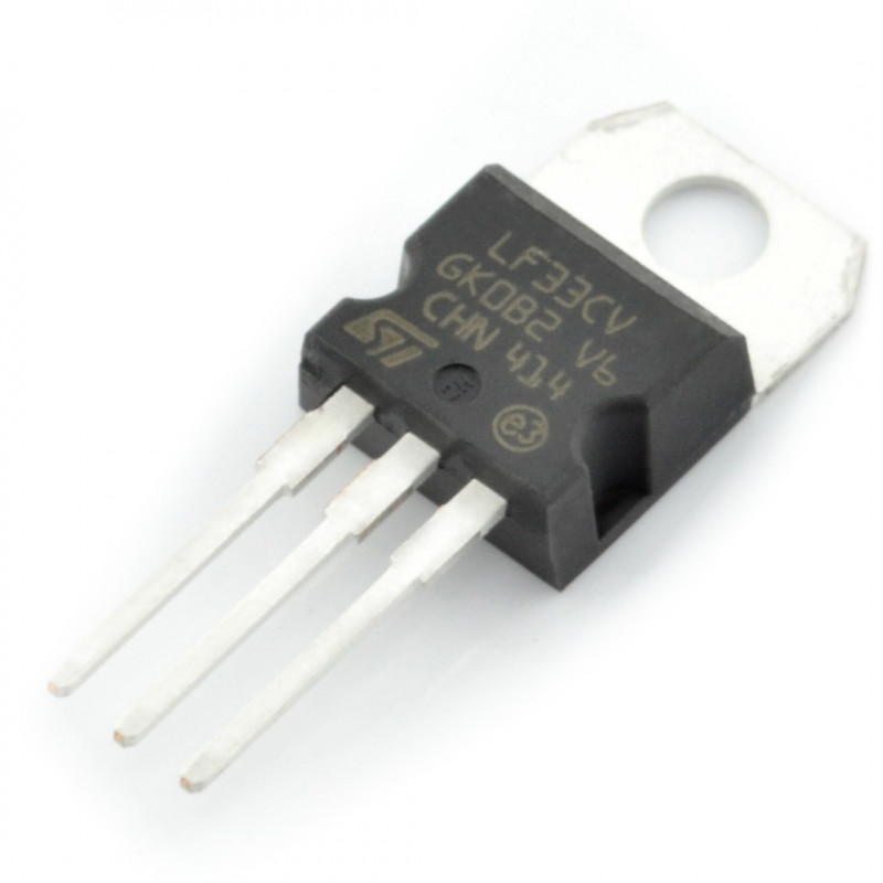 Linaer voltage regulator LDO 3.3V LF33CV - THT TO220