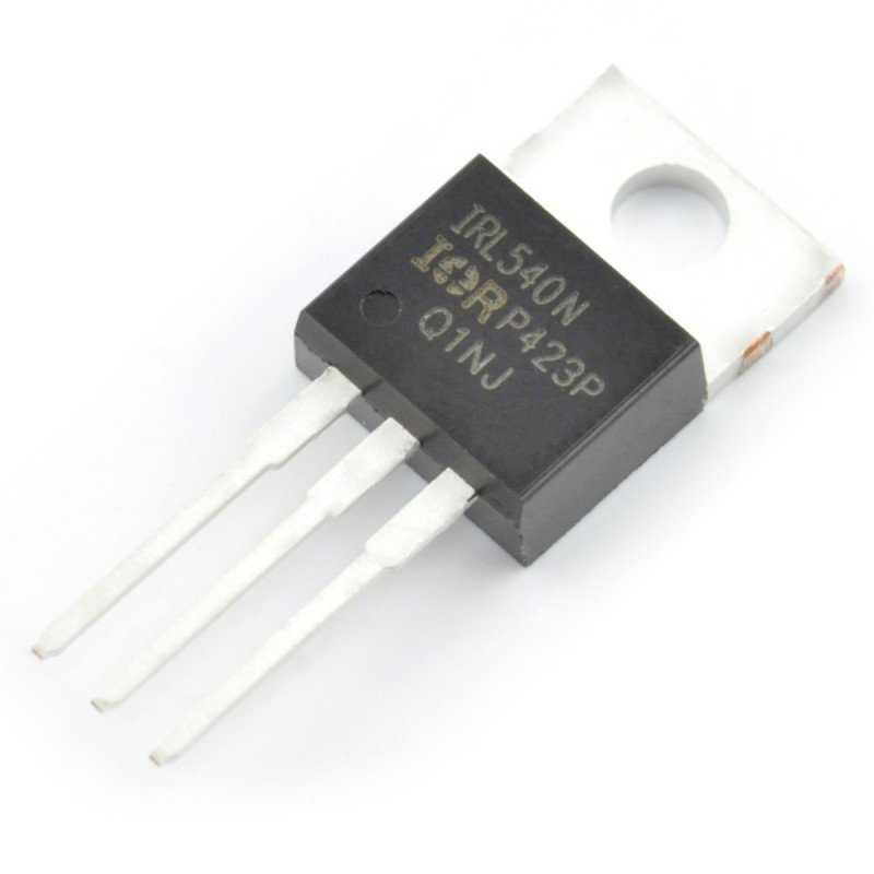 Transistor N-MOSFET IRL540NPBF - THT_