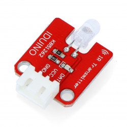 Iduino nadajnik podczerwieni IR 940nm + przewód 3-pin
