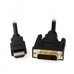 DVI - HDMI cable 1,8m