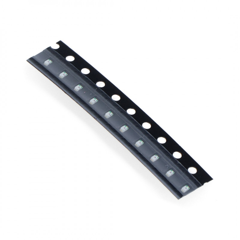 LED SMD0603 green - 10pcs_