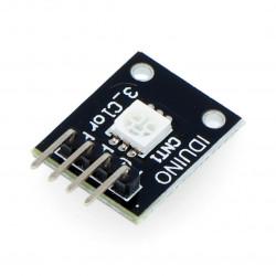 Moduł Iduino z diodą LED RGB SMD