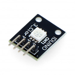 Iduino module with LED RGB SMD diode