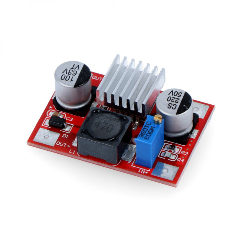 Step-Up Voltage Regulator LM2577 - 5-56V 3A