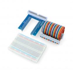 Iduino Expansion Kit - rozszerzenie Raspberry Pi do płytki stykowej + taśma + płytka stykowa