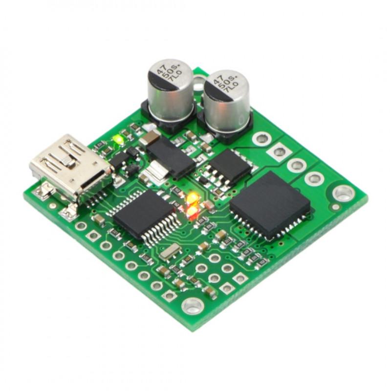 JRK 21v3 - single-channel USB driver with 28V / 3A feedback - Pololu 1392