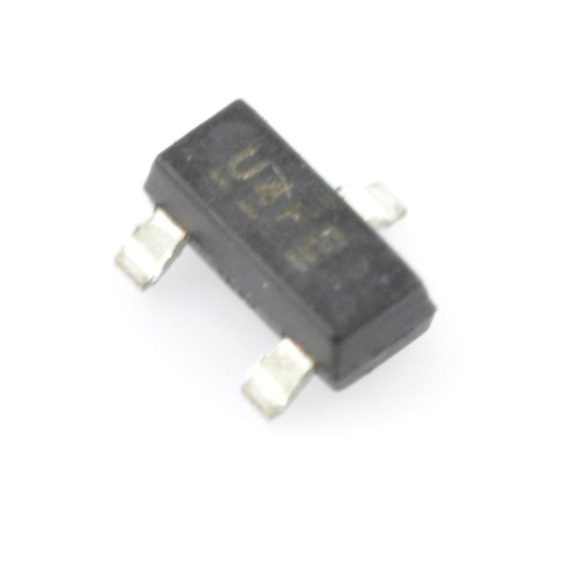 Transistor N-MOSFET IRLML2502 - SMD - 5 pcs._