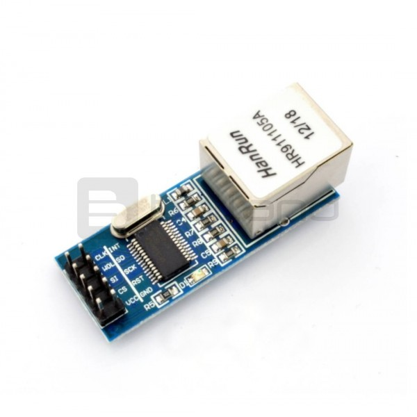 Moduł sieciowy Ethernet ENC28J60 mini