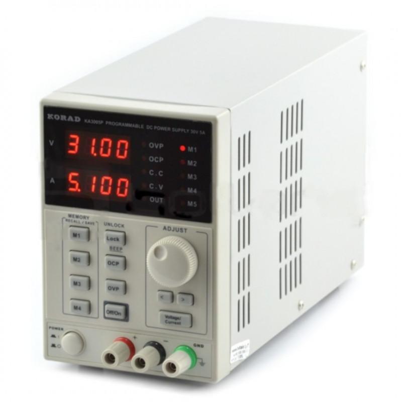 Laboratory power supply Korad KA3005P 0-30V 5A USB*