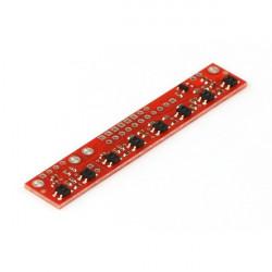 Strap with sensors odbiciowymi
