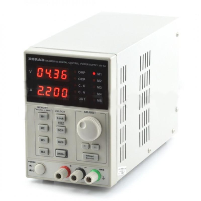 Laboratory power supply Korad KA3005D 0-30V 5A*