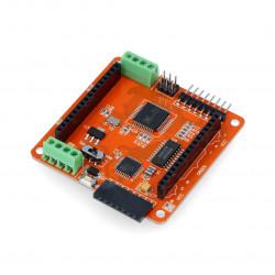 Sterownik matryc LED RGB 8x8 - Iduino - ATmega328 + DM163