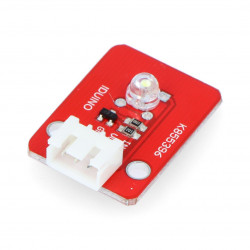 Iduino module with white LED diode + 3-pin wire