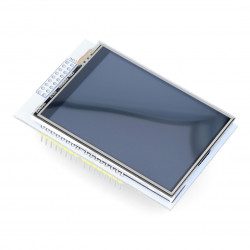 Touch screen Iduino LCD 2.8'' 320x240px SPI + microSD reader - shield for Arduino