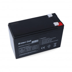 Gel battery 12V 7Ah Green Cell