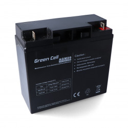 Gel battery 12V 18Ah Green Cell