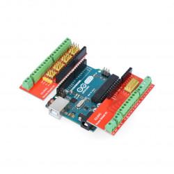 Iduino Screw Shield v3 - złącza śrubowe dla Arduino