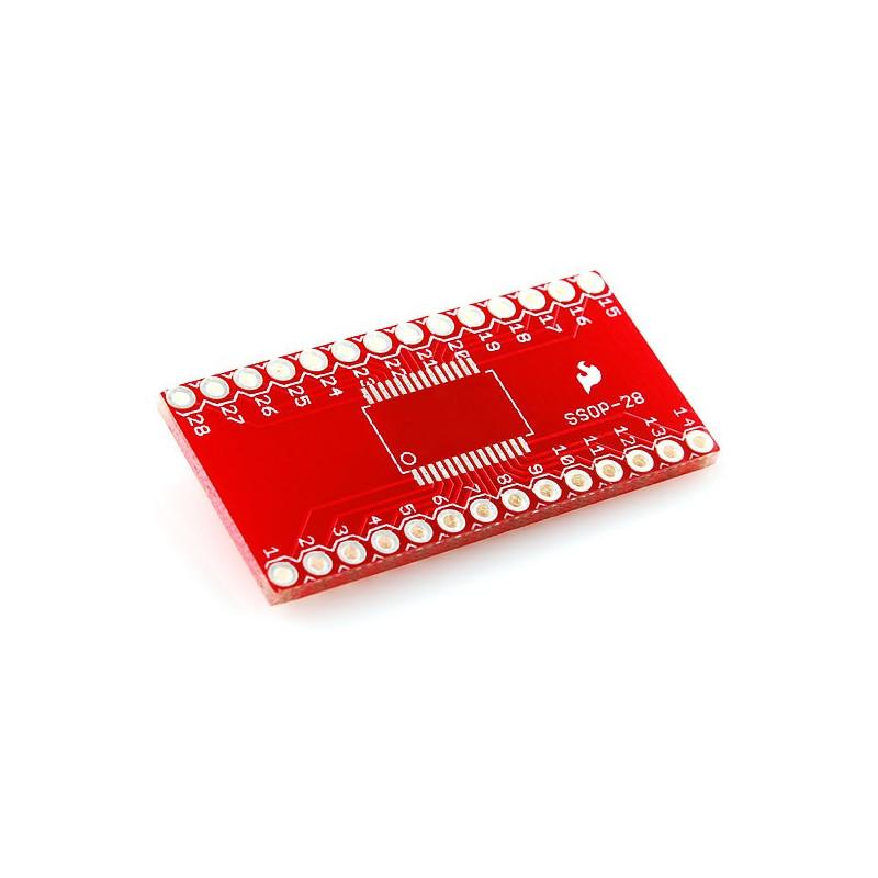 SSOP adapter to 28-pin DIP - SparkFun BOB-00500_